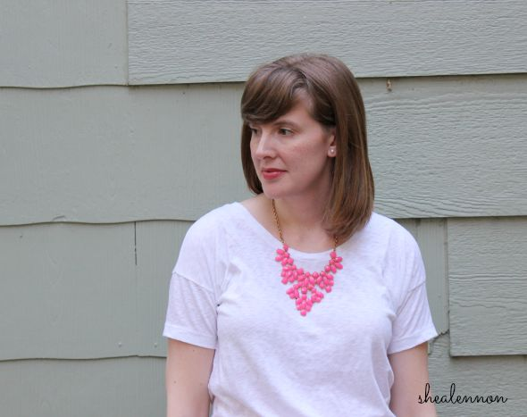 adding neon accents to basics | www.shealennon.com