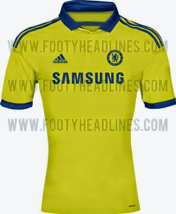 Jersey Away Chelsea 2014-15