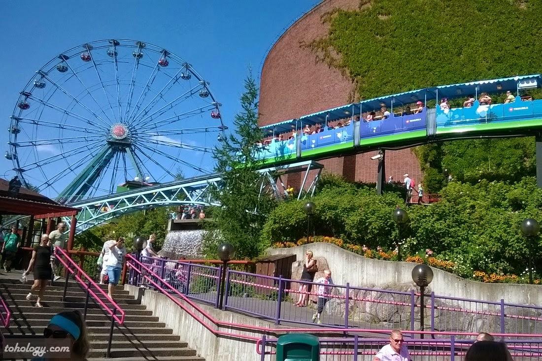Linnanmäki (Borgbacken) amusement park