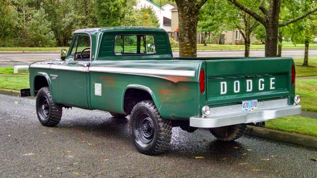 4WD for Sale, 1965 Dodge Power Wagon 4x4 Pickup Truck