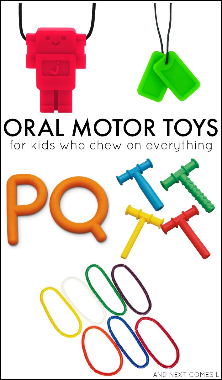 Sensory Chew Toys For Autism : Oral motor sensory activities for kids free printable