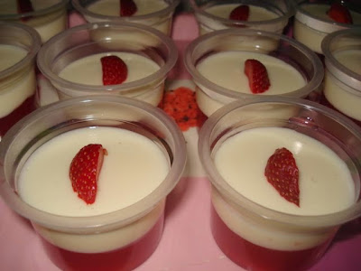 Resep Puding Strawberry Nikmat