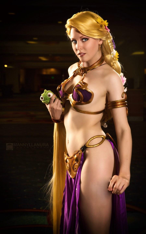 Wondercon 2014 - Princess Leia Rapunzel II