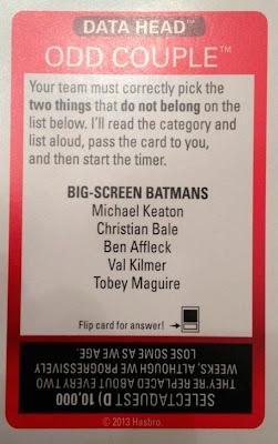 Esta tarjeta estará errónea en cuanto se estrene la nueva película de Batman