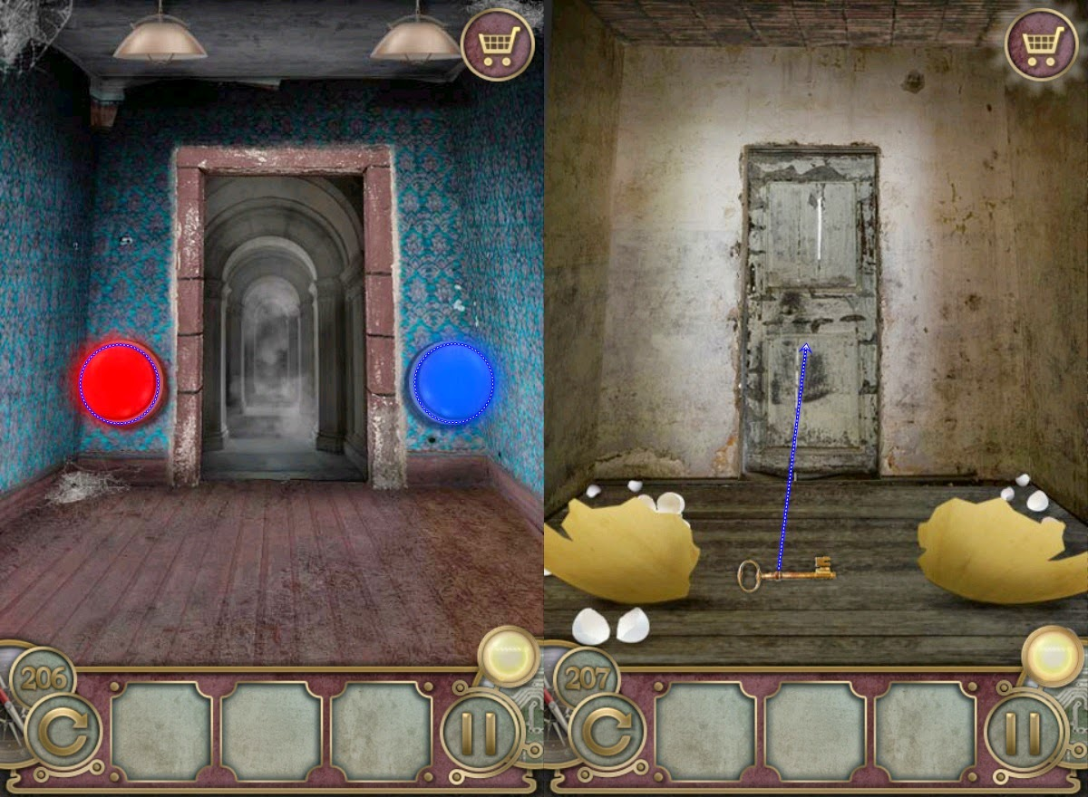 Escape the Mansion Level 206 207 208 209 210 Walkthrough