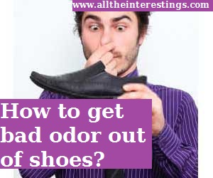 how to remove bad odor from shoes, Freshen Smelly Shoes, stop shoe odor