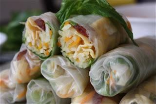 Jicama Fresh Rolls Recipe (Bò bía) 3