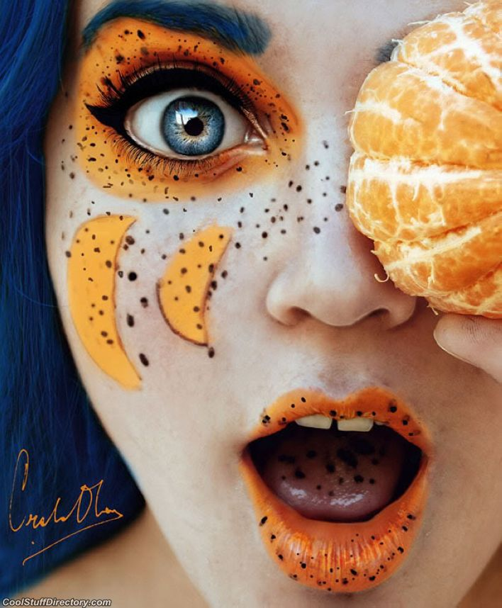 Juicy Photos of a Young Artist - Tutti Frutti by Cristina Otero