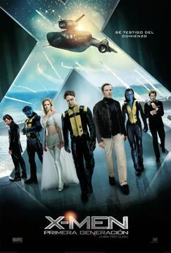 X-men: Primera generacion – DVDRIP LATINO