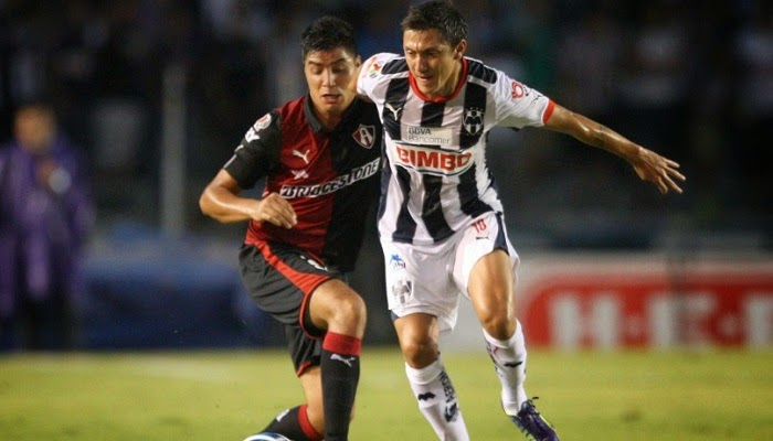 Atlas vs Monterrey en vivo