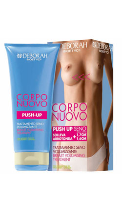 crema deborah push up volumizante pecho