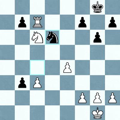 Posición final partida Nisipeanu - Caruana