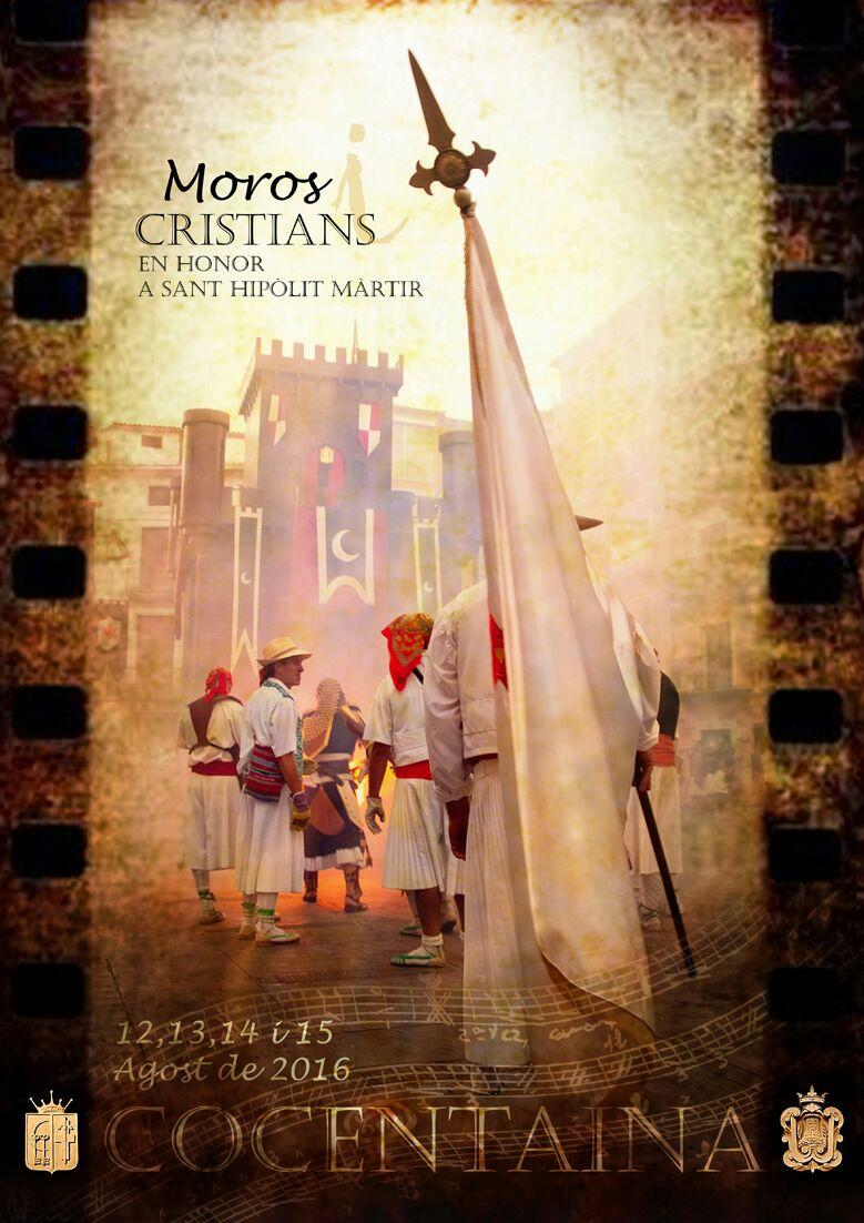 Festes de MOROS I CRISTIANS en honor a Sant Hipòlit Martir, COCENTAINA 2016