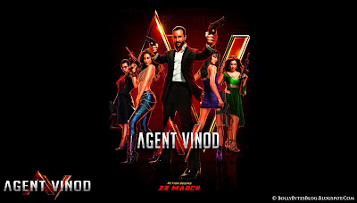 Agent Vinod Fresh Hot Hq Wallpaper Featuring Saif Ali Khan Kareena