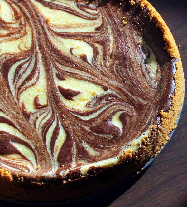 Chocolate Rum Cheesecake using Williams Sonoma recipe