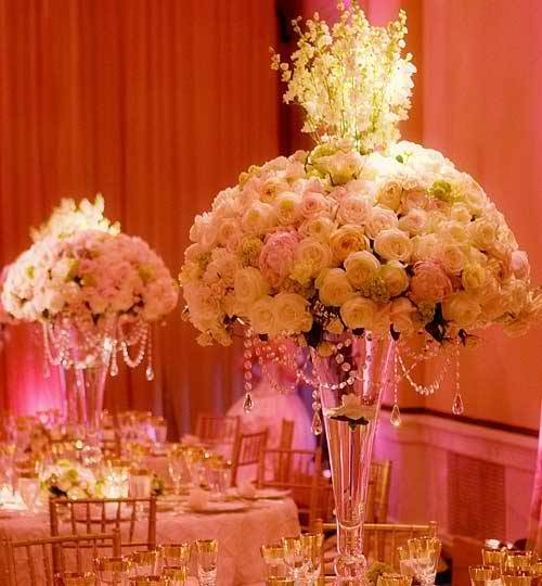 Simple Elegant Wedding Centerpieces