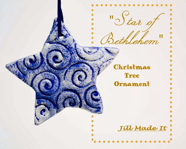 Star of Bethlehem Christmas Tree Ornaments