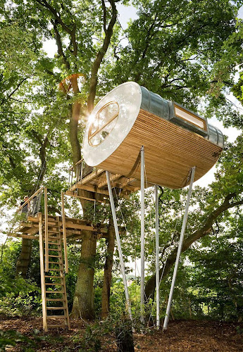 Treehouse Djuren in North Germany