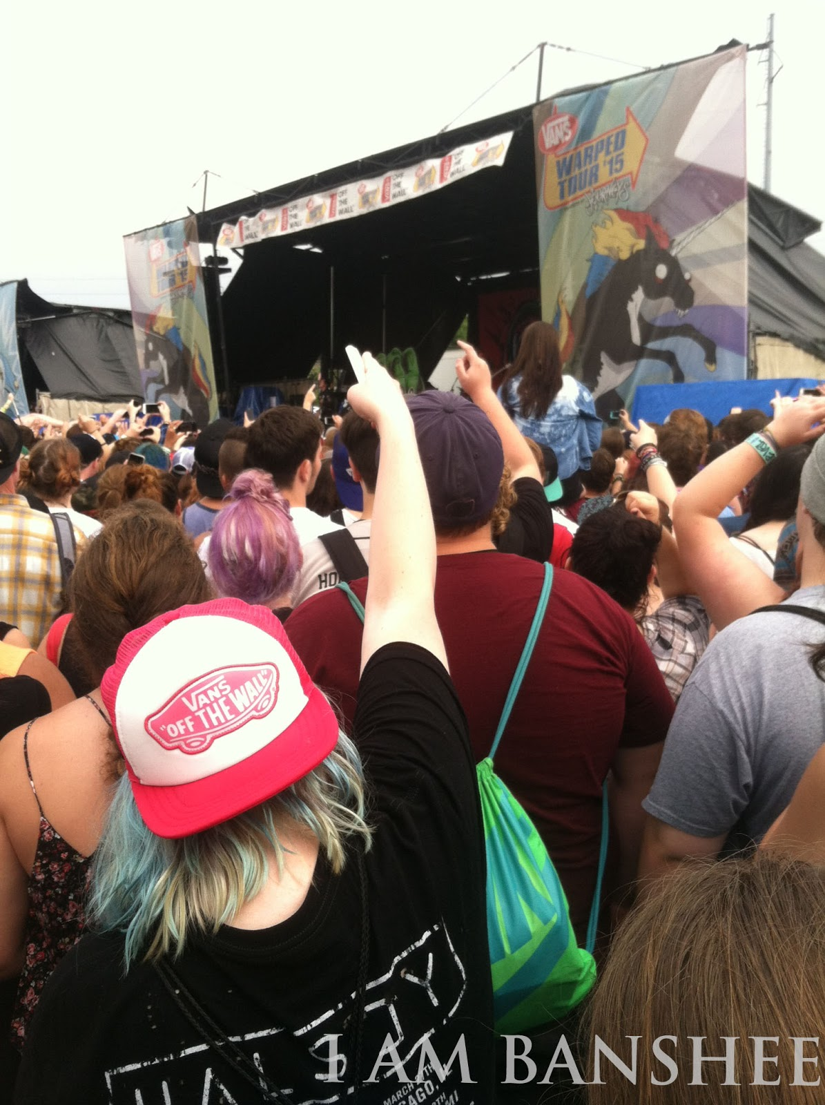I Am Banshee How To Rock Out At Vans Warped Tour