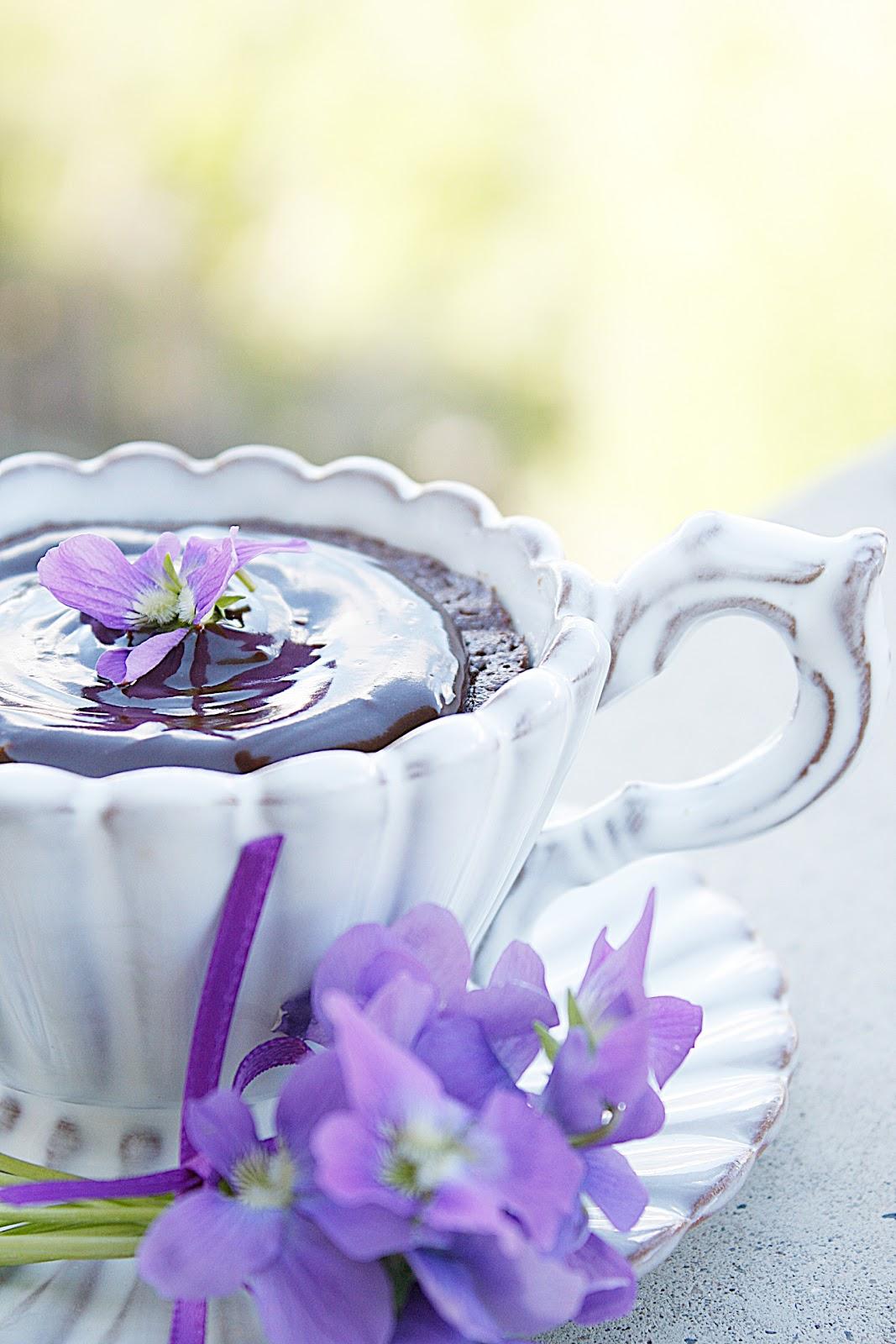 Flourless Chocolate Cake - Paula Deen - Purple Chocolat Home