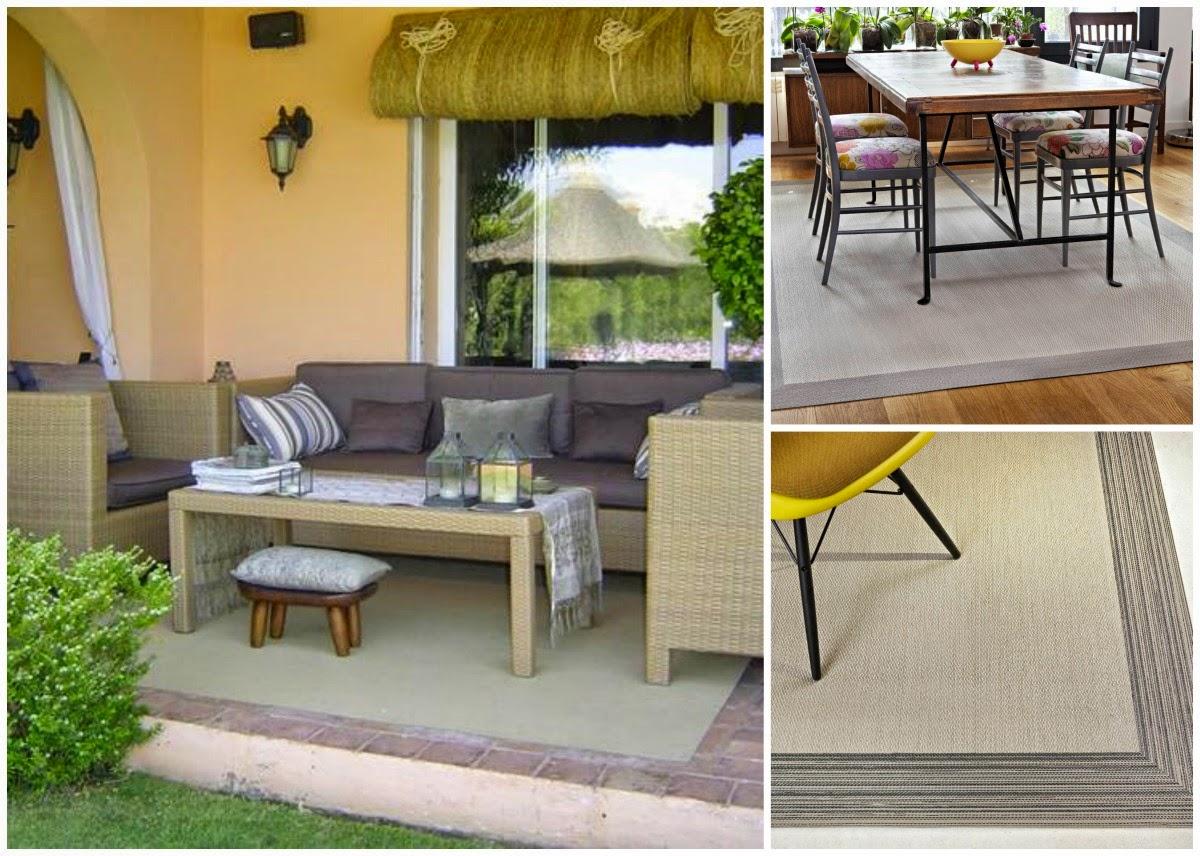 Maquilla tu casa alfombras de exterior una interesante alternativa para maquillar la terraza - Alfombras para terrazas ...