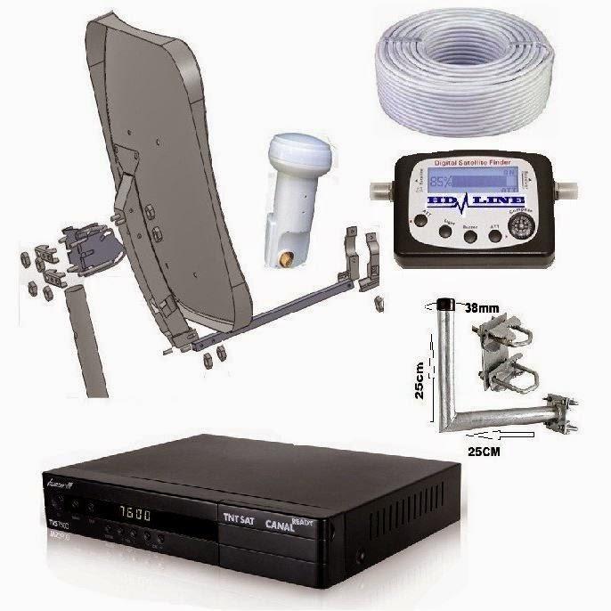 أجهزة استقبال البث الفضائي