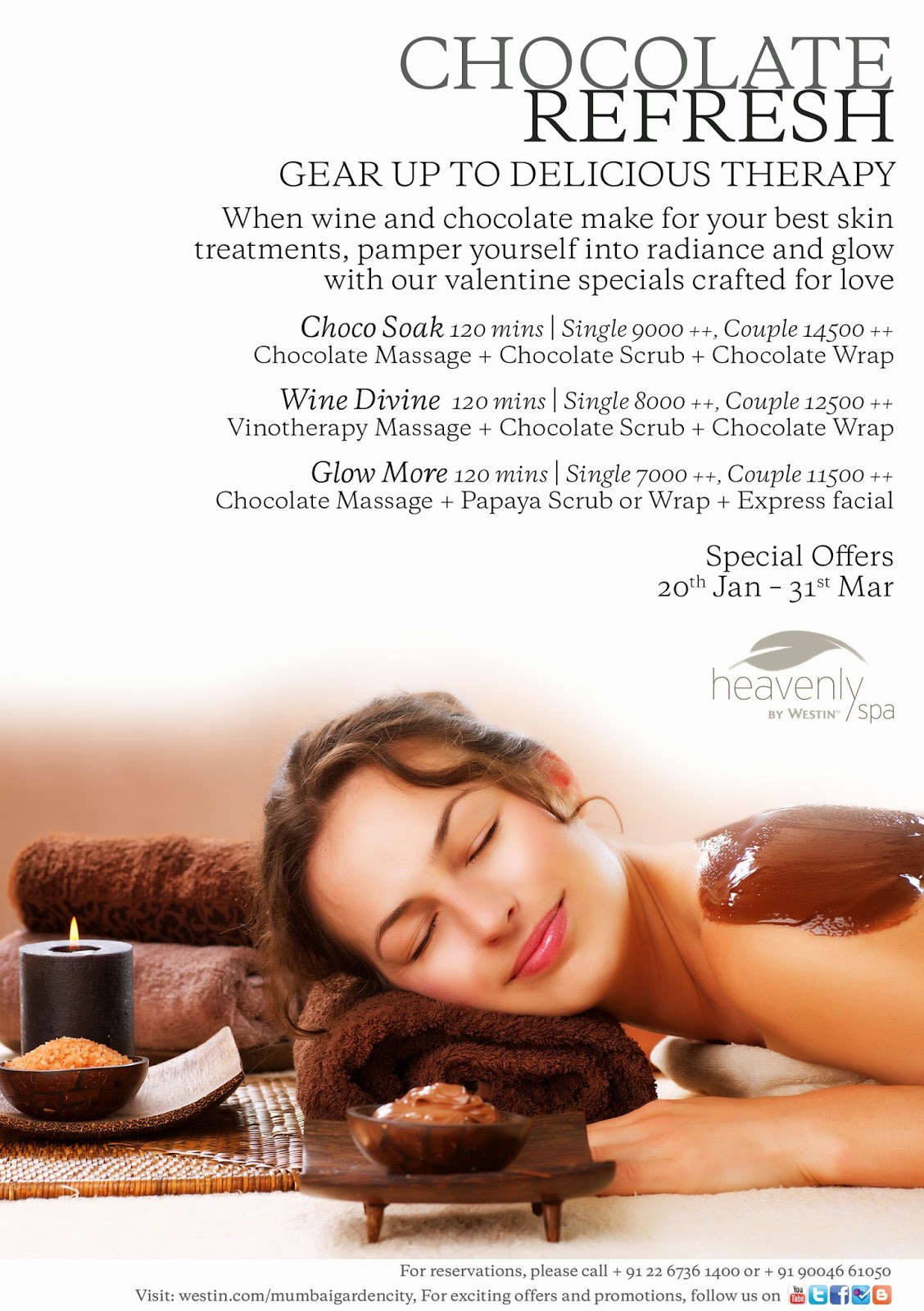 the westin mumbai garden city warm up your love with chocolate