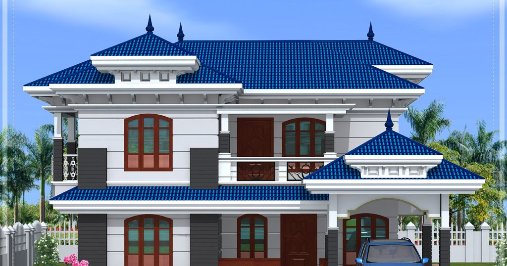 Front Elevation Of House In Kolkata : Front elevation of beautiful homedesignpictures