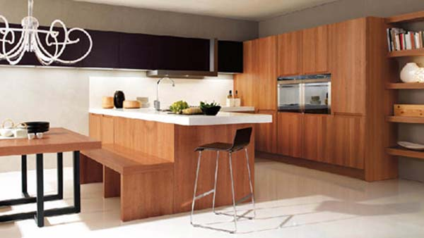 Kitchen breakfast bar ideas the kitchen design for Modern kitchen design with breakfast bar