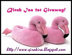 Qirah Isa 1st Giveaway
