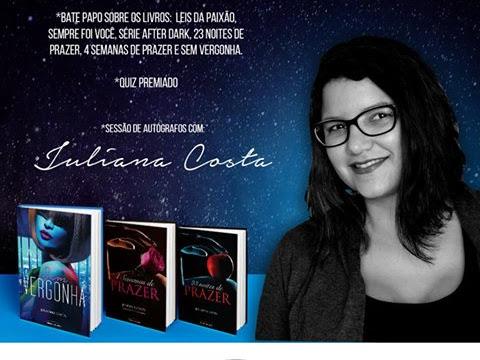 A Autora Julianna Costa na Bienal de Pernambuco