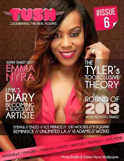 Emma Nyra & Endia a-dorn The Cover Of Tush Magazine, Issue 6.