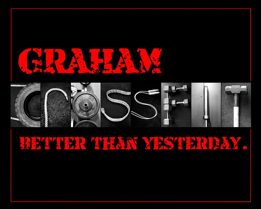 CrossFit Letter Art Photography