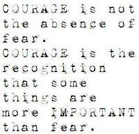 coraggio di scrivere
