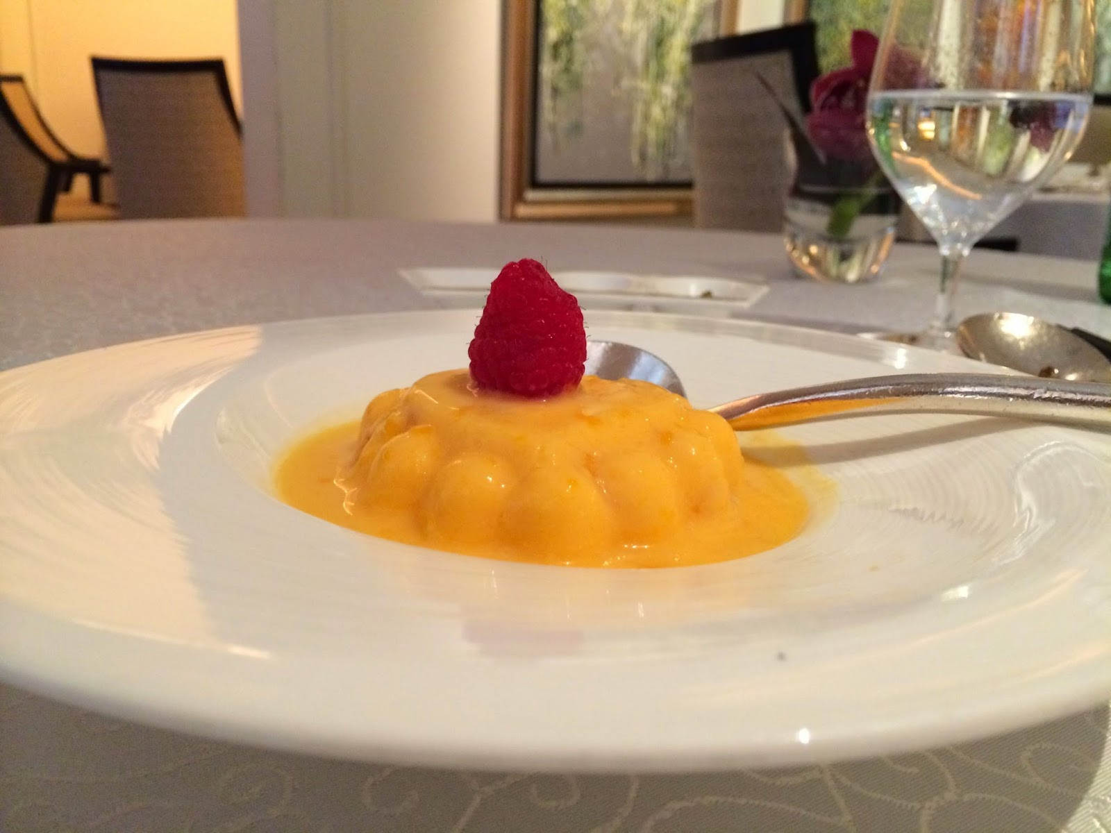 Mango Pudding at Yang Ting Singapore