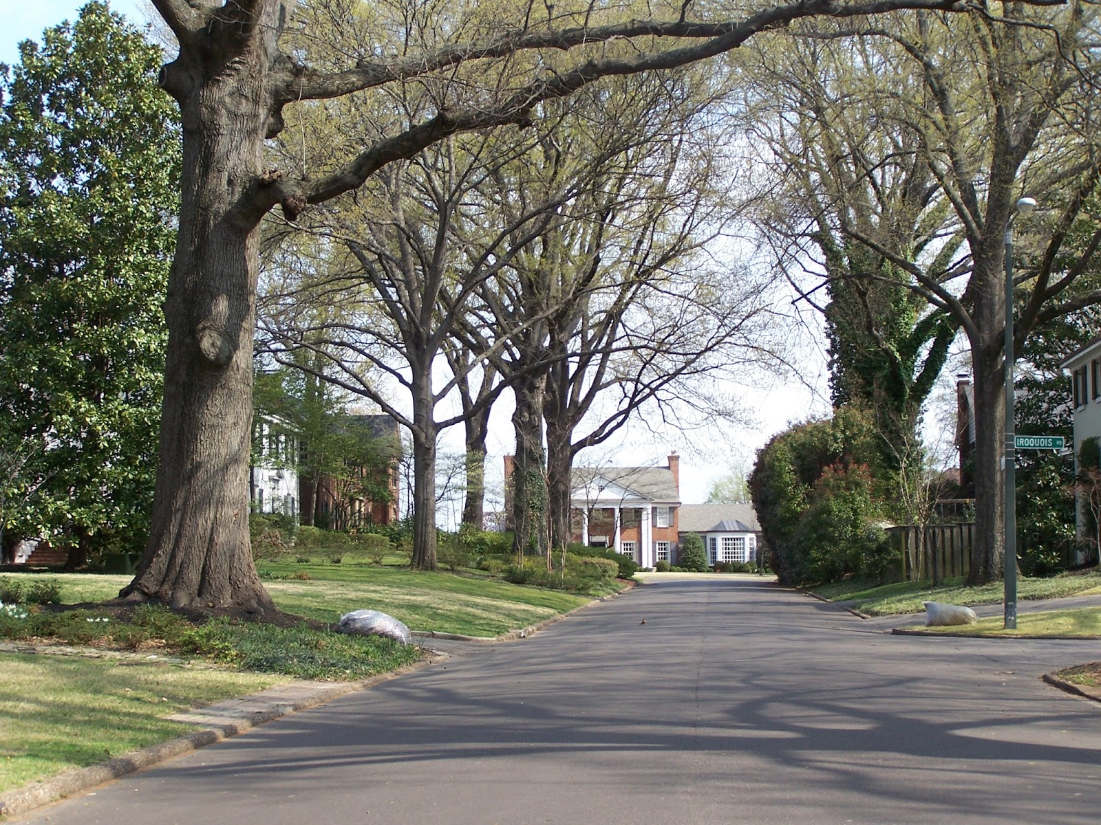 Unlike Red Acres (and Hedgemoor And The Walnut Grove Subu0027ds Below), There  Are Curbs Throughout Chickasaw Gardens. Like The Other Early East Memphis  ...