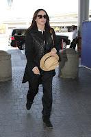 Jennifer Love Hewitt seen at LAX airport