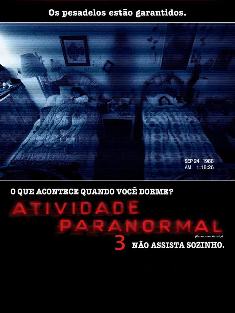capa Download   Atividade Paranormal 3 RMVB Legendado