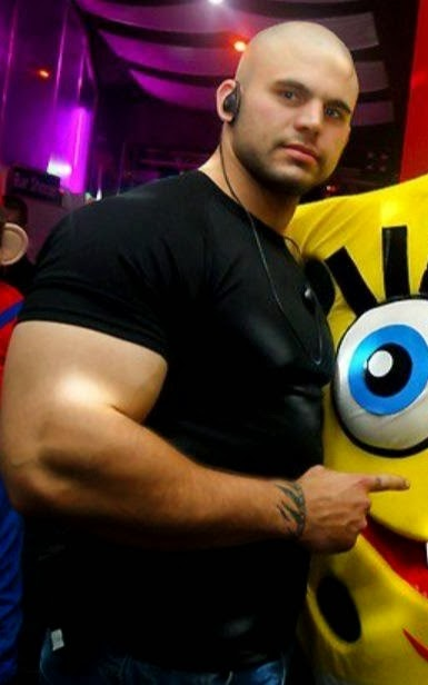 Bodybuilder's Huge Biceps