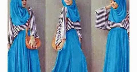 Model Pakaian Modern Remaja Muslim Untuk Kuliah Lagi Trend