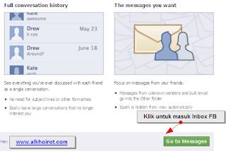 Cara Masuk Email Facebook