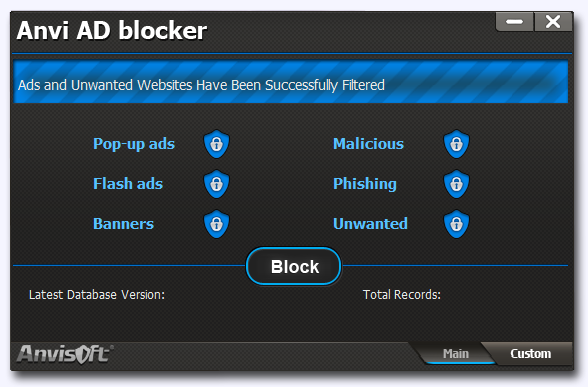 Anvi Ad Blocker , pop up blocker , complement to antivirus