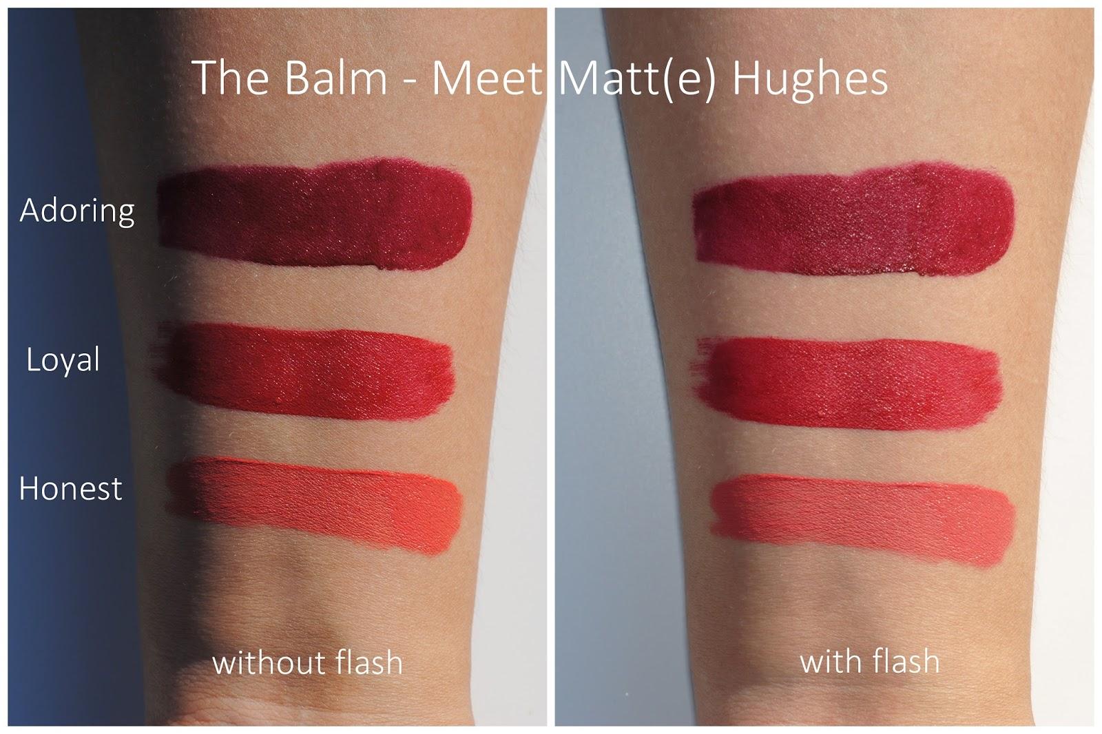 thebalm meet matte hughes lip color loyal