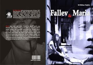 Sampul Novel Fallev dan Maria
