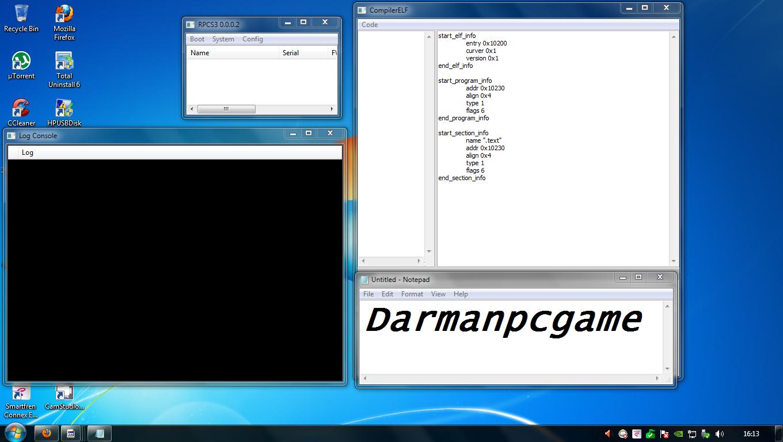 Jadi kalau kalian ingin mencoba Emulator RPCS 3.0.0.0.2 ini, silahkan ...