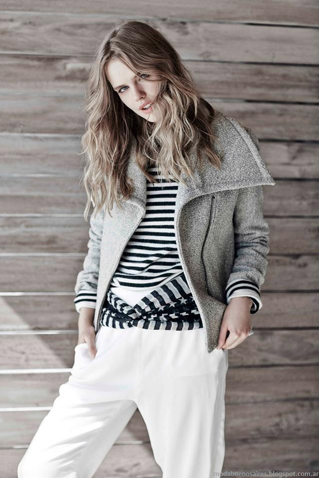 Camperas de moda invierno 2015 Paula Cahen D'Anvers.