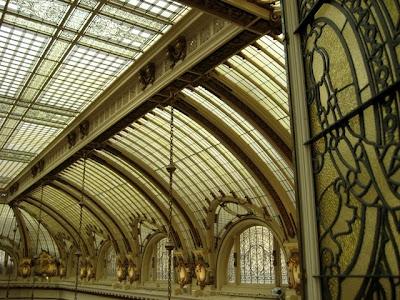 Garden Court ceiling