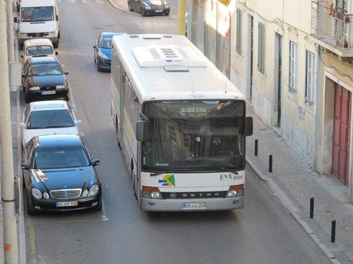 Buses in the Algarve, Portugal
