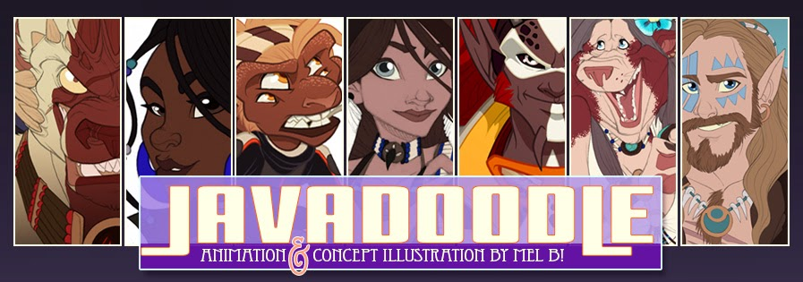 Javadoodle: Art by Mel B!