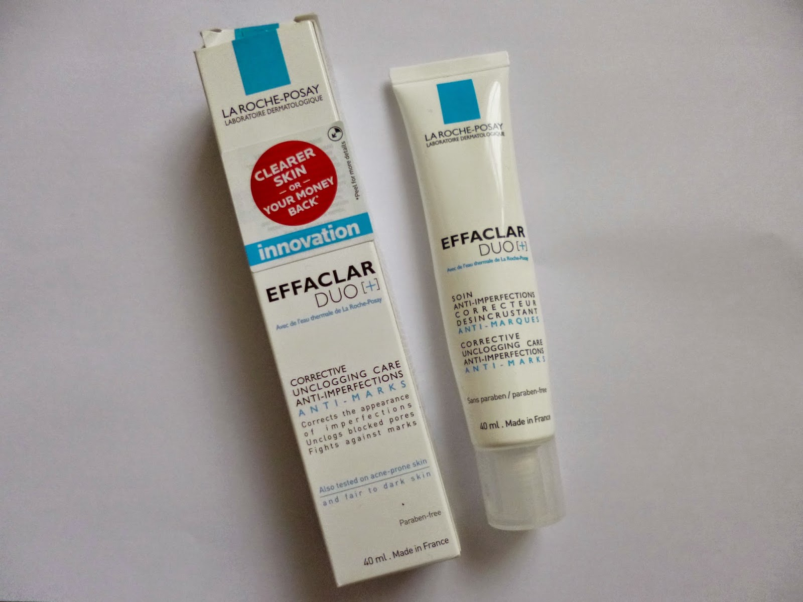 la roche posay effaclar duo review sleek chic. Black Bedroom Furniture Sets. Home Design Ideas